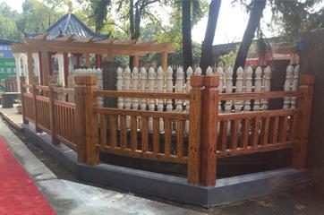 仿木护栏模具工程应用案例