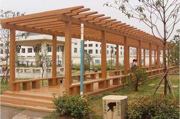 仿木长廊模具工程应用案例