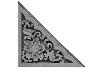 砖雕角花模具工程应用案例