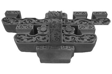 砖雕搭配模具工程应用案例
