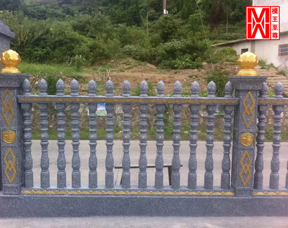 围栏漆效果图