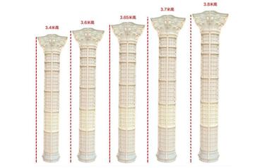 我们拒绝卖廉价劣质罗马柱模具