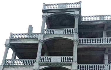 更多的别墅建造选择大唐稳江罗马柱模具