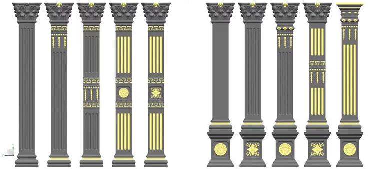 罗马柱模具开年需求大